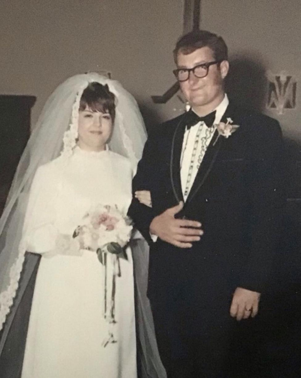 Mr. and Mrs. Fred Engelker