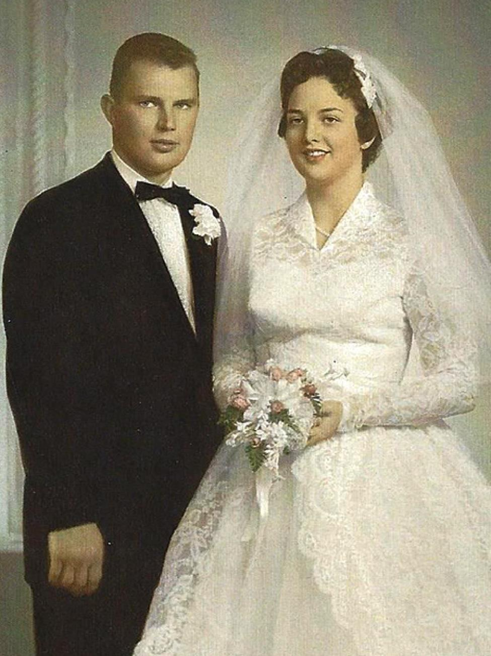 Mr. and Mrs. Vernon Schuster