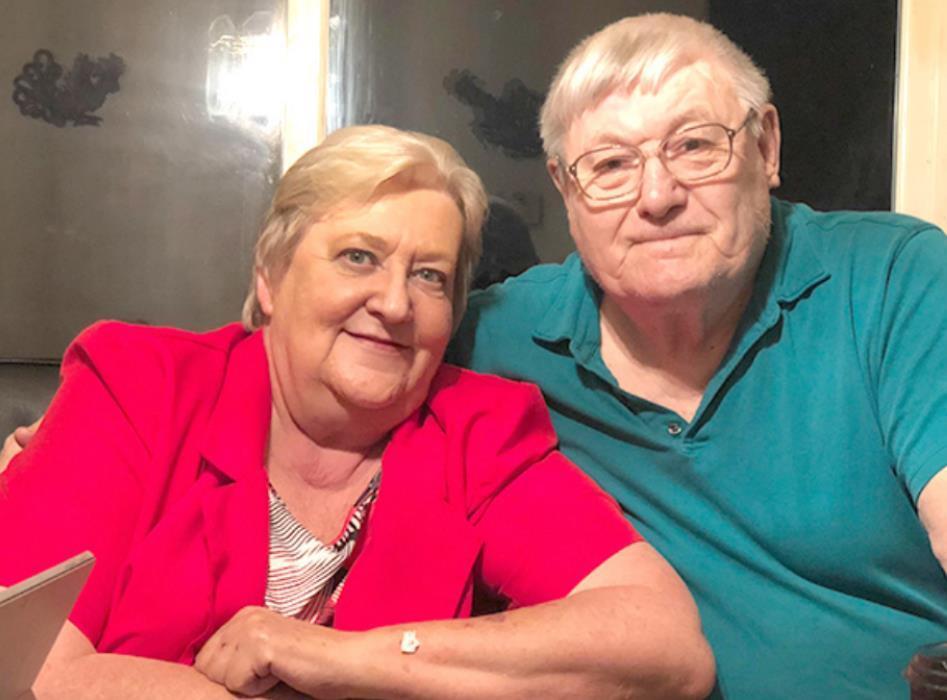 Mr. and Mrs. Rod Johnson