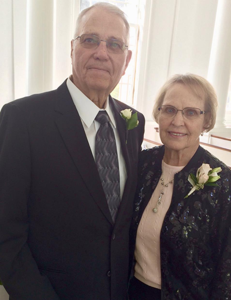 Mr. and Mrs. Ron Richardson