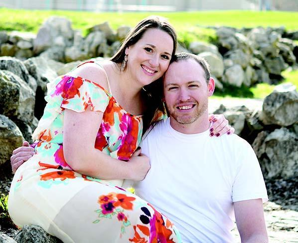 Amy Woodman and Brent Penny