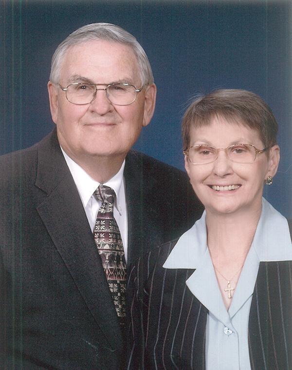 Mr. and Mrs. John Webster