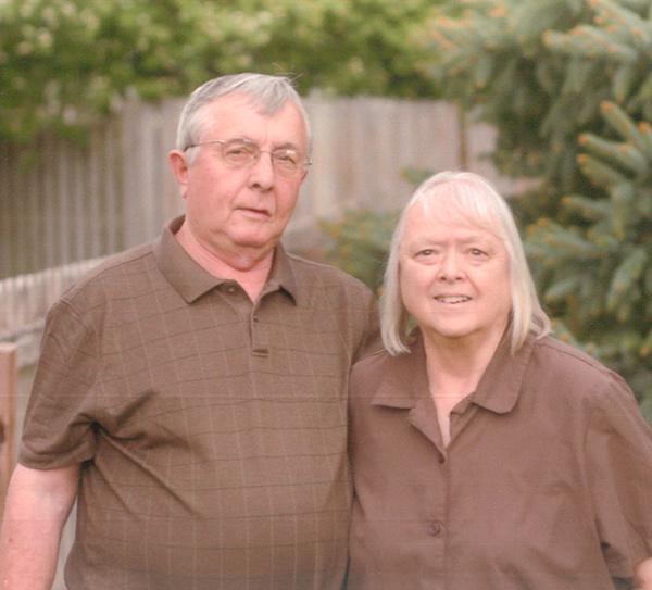 Mr. and Mrs. Melvin Solomon