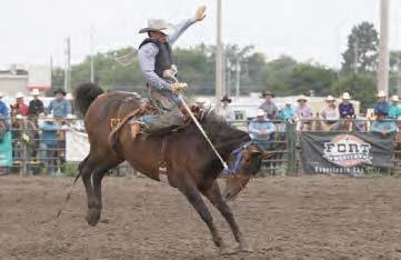 Nathan Burnett has earned a spot on the Nebraska State High School Rodeo Team and will be part of the 71st Annual National High School Finals Rodeo in Rock Springs, Wyoming, July 14 through 20. (–courtesy photo)