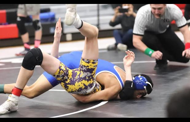 Five Buffalo wrestlers advance to district competition