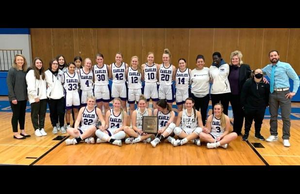 Lady Eagles reign as conference champs