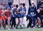 Bulldogs battle frigid temps at state cross country meet